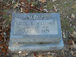 Lizzie E Williams