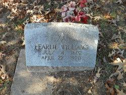 Pearlie Williams