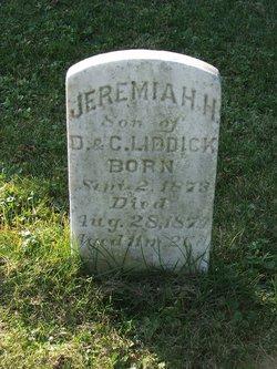 Jeremiah H Liddick