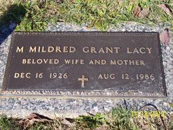 Mary Mildred <i>Grant</i> Lacy