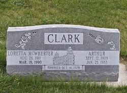 Loretta Ann <i>McWherter</i> Clark