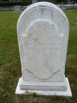 Sarah J. Belz