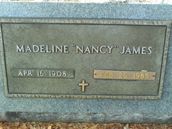 Madeline Nancy James