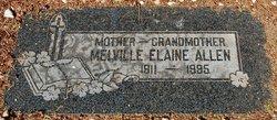 Melville Elaine Allen