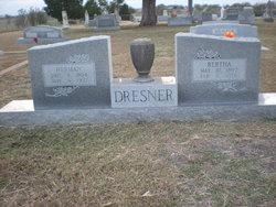Bertha <i>Rueter</i> Dresner