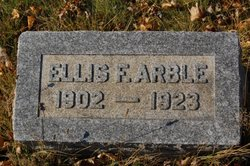 Ellis Franklin Arble