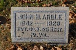 Pvt John Henry Arble, Sr