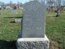Alice Ann <i>Sellers</i> Wise