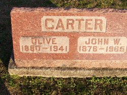 Olive <i>Bolyard</i> Carter