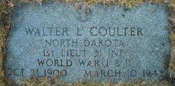 Lieut Walter L Coulter