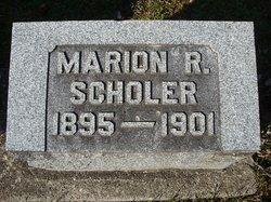 Marion R Scholer