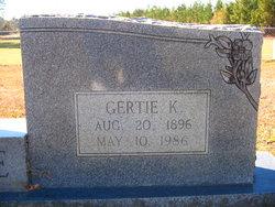 Gertrude Gertie <i>Kay</i> Temple