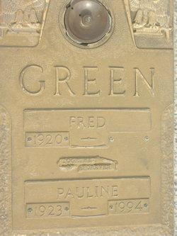 Pauline <i>Welch</i> Green