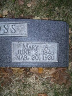 Mary Ann <i>Covington West</i> Ross