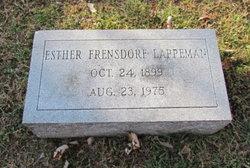 Esther <i>Frensdorf</i> Lappeman