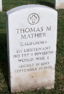 Thomas M Mather