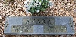 Harriet Ann Eliza Hattie <i>Russell</i> Avara