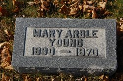 Mary Laurahanna <i>Arble</i> Young