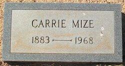Carrie Cornelia <i>Mize</i> Colvard