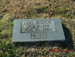 Lois Hester <i>Bullard</i> Bolton