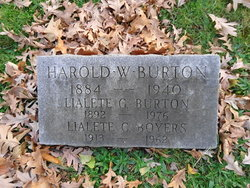 Harold Williams Burton