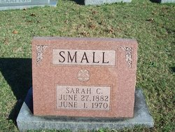 Sarah Cordelia <i>Henry Jones</i> Small