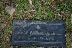 Faye Wilma <i>Williams</i> Andrews
