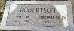 Hugh W Robertson