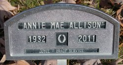 Annie Mae <i>Hussey</i> Allison