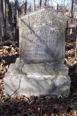 Mary R. <i>Clarke</i> Crump