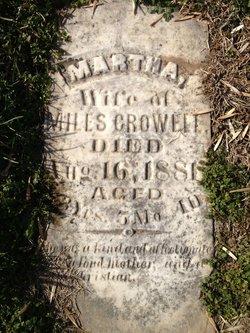 Martha <i>Milstead</i> Crowell