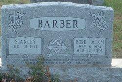 Rose Miks Barber