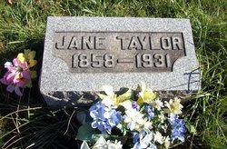 Jane <i>Denbow</i> Taylor
