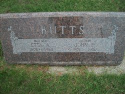 Etta Alice <i>Callahan</i> Butts