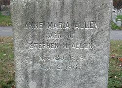 Ann Maria <i>Gridley</i> Allen
