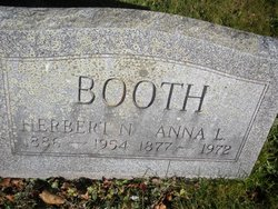 Anna Louise <i>Horton</i> Booth