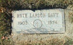 Ruth <i>Larson</i> Davy