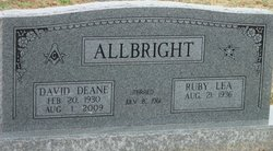 Ruby Lea <i>Alexander</i> Allbright