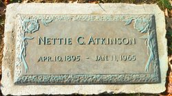 Nettie C <i>Boyer</i> Atkinson