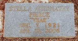 Stella Jane <i>Abernathy</i> Pierce