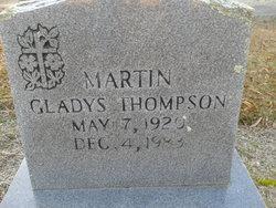 Gladys <i>Thompson</i> Martin