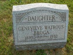 Genevieve <i>Watrous</i> Broga