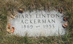 Mary <i>Linton</i> Ackerman