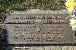 Rev Joseph Paul Bennett