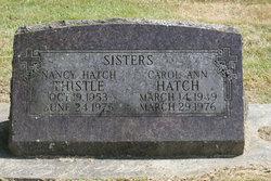 Carol Ann Hatch