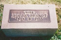 Hulda <i>Foth</i> Brandt