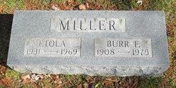 Burr F Miller