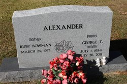 George T. Tommy Alexander
