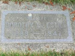 Dorothy L. <i>Smith</i> Estill