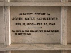 John Metz J.M. Schneider